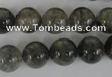 CCQ305 15.5 inches 14mm round cloudy quartz beads wholesale