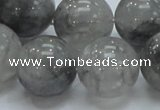 CCQ56 15.5 inches 20mm round cloudy quartz beads wholesale