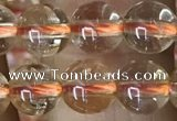 CCR331 15.5 inches 6mm round natural citrine gemstone beads