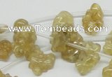 CCR87 15.5 inches 15mm chips citrine gemstone beads wholesale