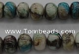 CCS43 15.5 inches 5*8mm rondelle natural chrysocolla gemstone beads