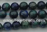 CCS522 15.5 inches 8mm round dyed chrysocolla gemstone beads