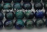 CCS523 15.5 inches 10mm round dyed chrysocolla gemstone beads
