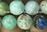 CCS867 15.5 inches 10mm round chrysocolla gemstone beads