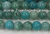CCS872 15.5 inches 4mm round natural chrysocolla gemstone beads
