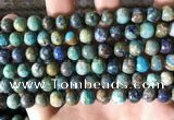 CCS877 15.5 inches 8mm round natural chrysocolla beads wholesale
