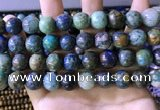 CCS879 15.5 inches 12mm round natural chrysocolla beads wholesale