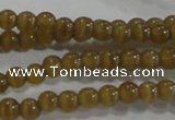 CCT1109 15 inches 2mm round tiny cats eye beads wholesale