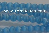 CCT1119 15 inches 2mm round tiny cats eye beads wholesale