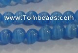 CCT1167 15 inches 3mm round tiny cats eye beads wholesale