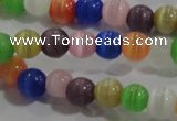 CCT1173 15 inches 3mm round tiny cats eye beads wholesale