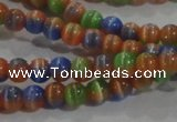 CCT1174 15 inches 3mm round tiny cats eye beads wholesale