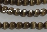 CCT1215 15 inches 4mm round cats eye beads wholesale