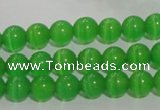 CCT1225 15 inches 4mm round cats eye beads wholesale