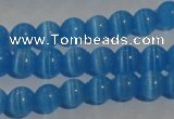 CCT1228 15 inches 4mm round cats eye beads wholesale