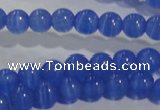 CCT1230 15 inches 4mm round cats eye beads wholesale