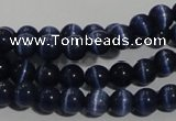CCT1243 15 inches 4mm round cats eye beads wholesale