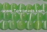 CCT1282 15 inches 5mm round cats eye beads wholesale