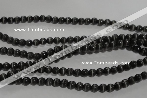CCT1296 15 inches 5mm round cats eye beads wholesale