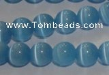 CCT1299 15 inches 5.5mm round cats eye beads wholesale
