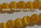 CCT1328 15 inches 6mm round cats eye beads wholesale
