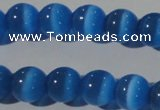 CCT1353 15 inches 6mm round cats eye beads wholesale
