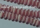 CCT214 15 inches 2*4mm rondelle cats eye beads wholesale