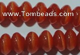 CCT275 15 inches 5*8mm rondelle cats eye beads wholesale