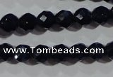 CCT348 15 inches 5mm faceted round cats eye beads wholesale