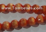 CCT354 15 inches 6mm faceted round cats eye beads wholesale