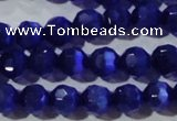 CCT364 15 inches 6mm faceted round cats eye beads wholesale