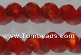 CCT374 15 inches 8mm faceted round cats eye beads wholesale