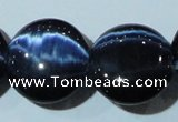 CCT582 15 inches 14mm flat round cats eye beads wholesale