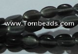 CCT617 15 inches 4*6mm oval cats eye beads wholesale