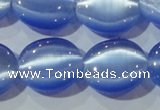 CCT702 15 inches 10*12mm oval cats eye beads wholesale