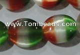 CCT706 15 inches 10*12mm oval cats eye beads wholesale