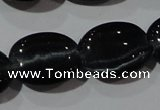 CCT707 15 inches 10*12mm oval cats eye beads wholesale