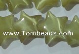 CCT891 15 inches 12mm star cats eye beads wholesale