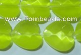 CCT990 15 inches 18*18mm faceted heart cats eye beads wholesale