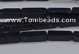 CCU728 15.5 inches 4*13mm cuboid blue goldstone beads wholesale