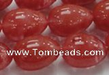 CCY02 15.5 inches 15*20mm teardrop cherry quartz beads wholesale