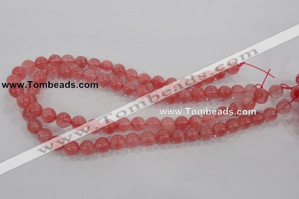 CCY102 15.5 inches 8mm round cherry quartz beads wholesale