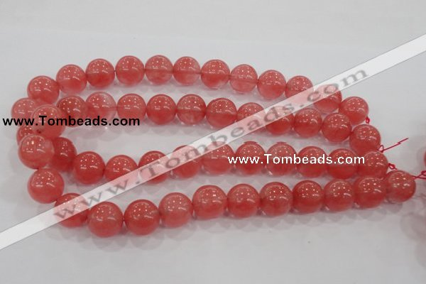CCY105 15.5 inches 14mm round cherry quartz beads wholesale