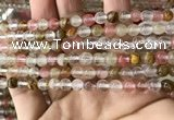 CCY631 15.5 inches 6mm round volcano cherry quartz beads wholesale
