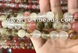 CCY634 15.5 inches 12mm round volcano cherry quartz beads wholesale