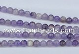 CDA50 15.5 inches 4mm round dogtooth amethyst beads wholesale