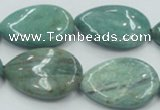 CDB22 22*30mm flat teardrop natural new dragon blood jasper beads