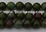 CDB300 15.5 inches 4mm round dragon blood jasper beads wholesale