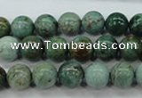 CDB42 15.5 inches 10mm round new dragon blood jasper beads