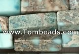 CDE1482 15.5 inches 4*13mm cuboid sea sediment jasper beads